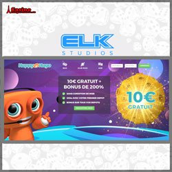 Bonus sans dépôt Elk studios